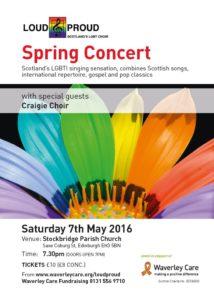 Spring Concert Flyer 2016