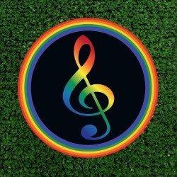 Loud & Proud Teble Clef Logo